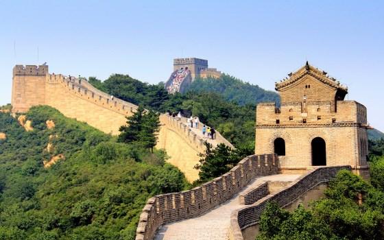 Великая китайская стена - достопримечательности Китай фото и описание.
