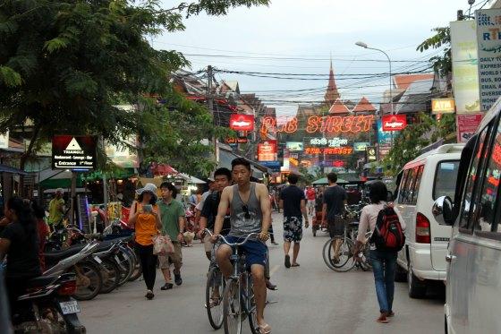 Сием Рип - туристический центр Камбоджи.