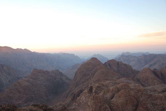 Гора Моисея, или гора Синай.