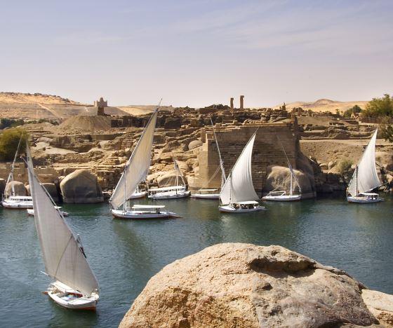 Поход по Нилу круиз по великой реке.