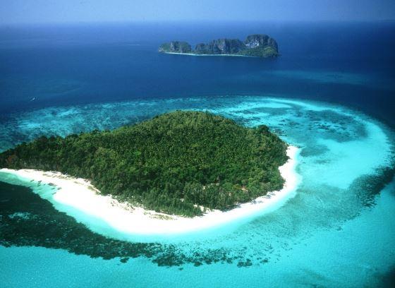 Острова Тайланда - Паттайя вид на остров.