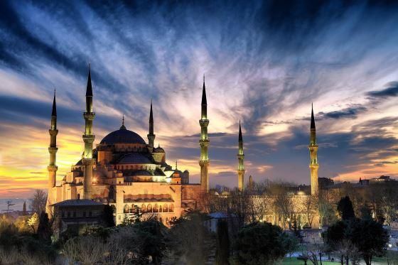 Голубая мечеть еще одно фото.