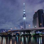 Впечатляющая башня Скай Три в Токио