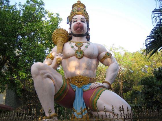 Бог Хануман - божество в индийской мифологии.