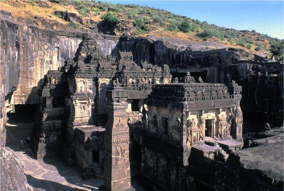 Кайласанатха - архитектура индийская.
