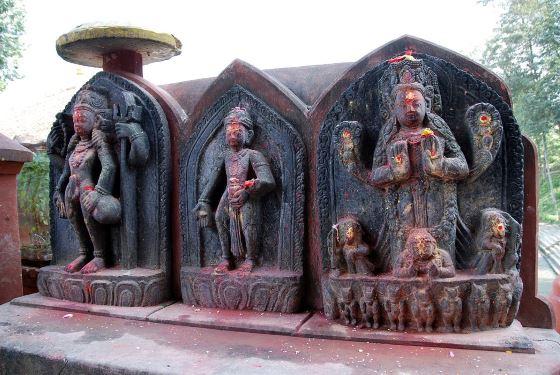 Кама бог любви в Индии.