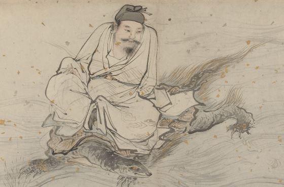Лань Цайхэ - китайский культурный герой.