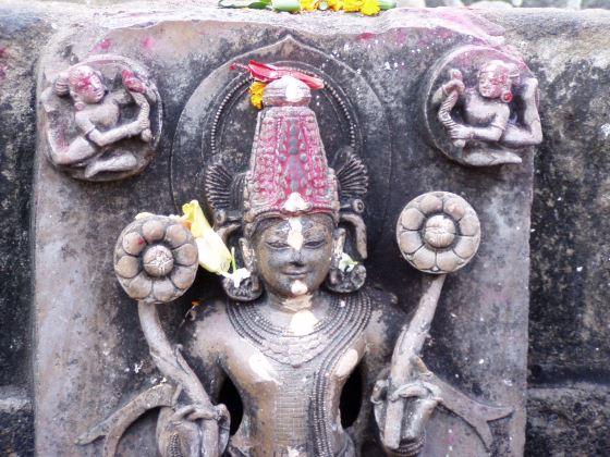 Бог Сурья - божество солнца.