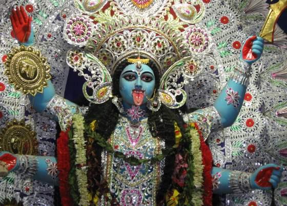 Богиня Кали - богиня почитаемая в индуизме.