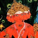 Бог Сканда — божество войны в индуизме