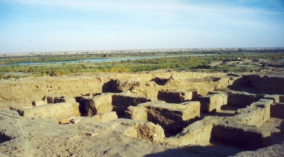 Город Ашшур и его руины.