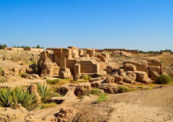 Город Вавилон все что от него осталось.
