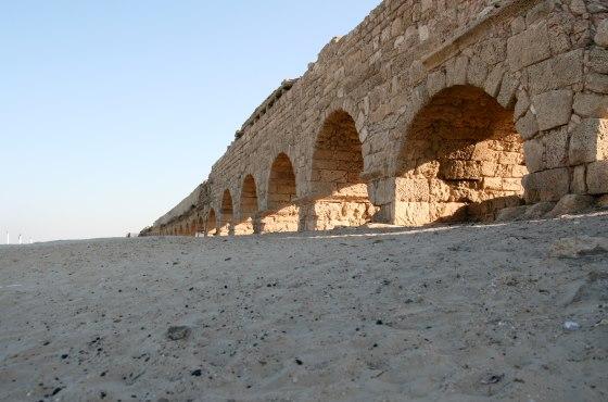 Кесария - все что осталось от «высокого» акведука