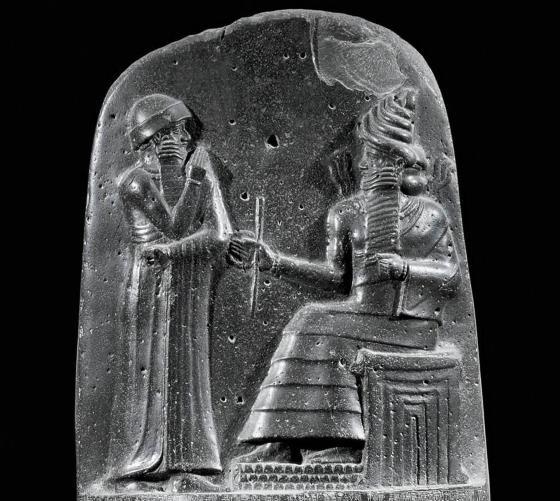 Законы царя Хаммурапи - великий царь Вавилона.