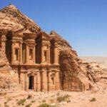 Уникальный город в Иордании Петра