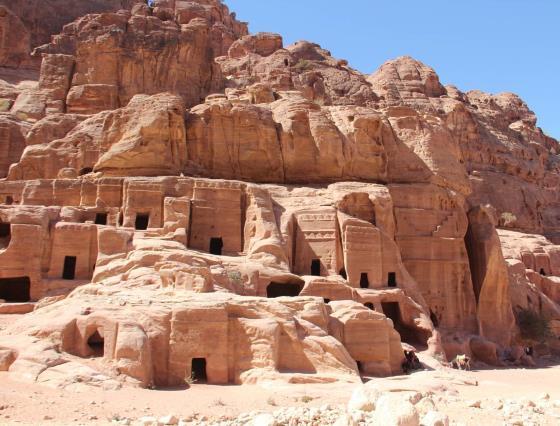 Петра город Иордания.