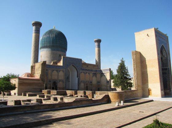 Гур-Эмир  мавзолей Тамерлана и его семьи.