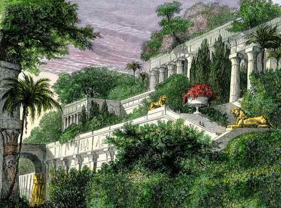 Мифология или история - Висячие сады Семирамиды.