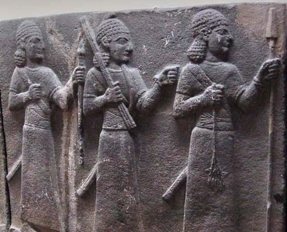Хеттские войны в камне, находится в музее Анкары.