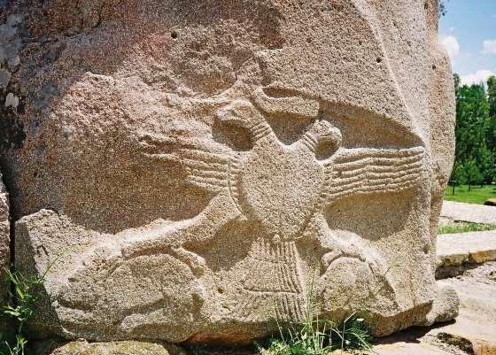 Двуглавый орел символ Хеттов.
