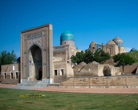 Шахи Зинда - находится в городе Самарканд и принадлежало знати.