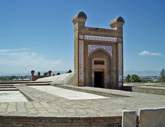 Обсерватория Улугбека в городе Самарканде.