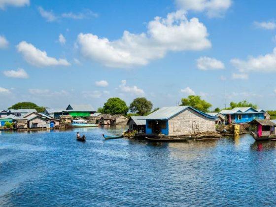 Достопримечательности Камбоджи - рассказ о вьетнамской деревни.