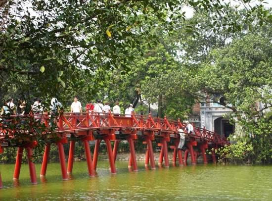 Озеро Хоанкьем - город Ханой.