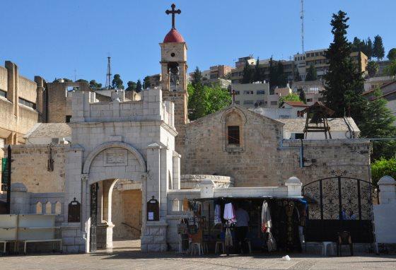 Православная греческая церковь Архангела Гавриила и Святого источника - Город Назарет.