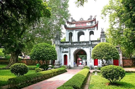 Храм Литературы - город Ханой.