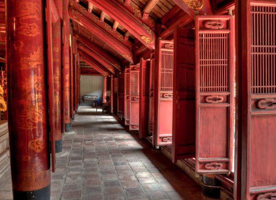 Храм Литературы - столица Вьетнама.