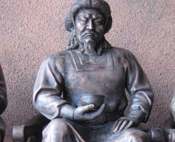 Угадай - сын Чингисхана.