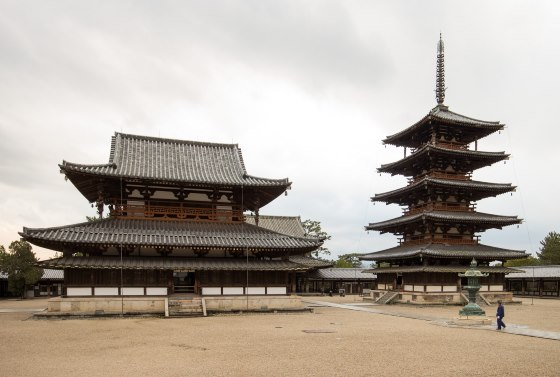 Храм Хорю-дзи Период Асука - Япония