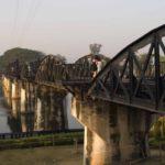 Мост смерти над речкой жизни — река Квай и город Канчанабури!