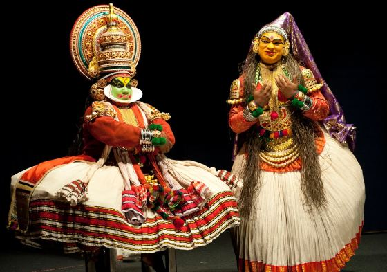 Катхакали - танцевально-драматическое искусство Индии