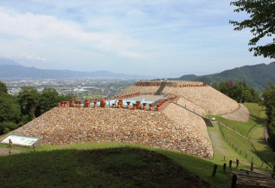 Курган периода Кофун Япония