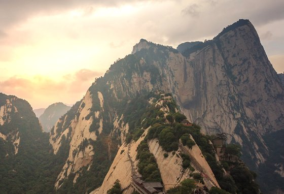 Хуашань - фото горы.