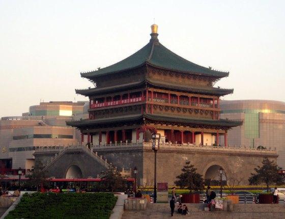 Колокольная башня - Китай достопримечательности.