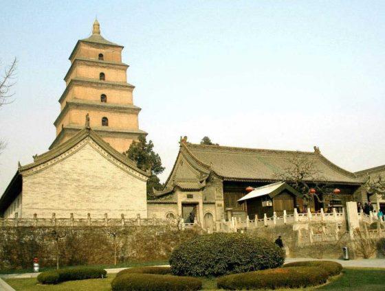Большая пагода диких гусей Китай - Сиань. ancient-east.ru