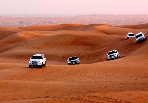 Путешествие (сафари) по пустыни в ОАЭ