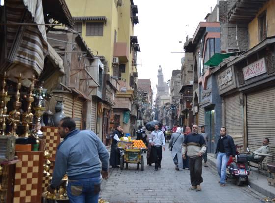 Каирские улочки - жизнь города.