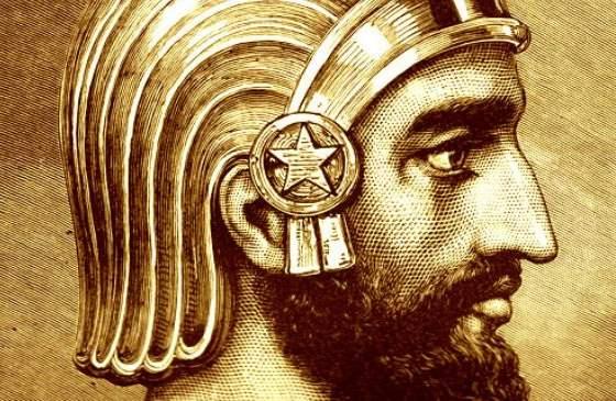 Кир Великий - легендарный полководец Персии.