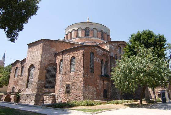 Церковь Святой Ирины в Дворце Топкапы.