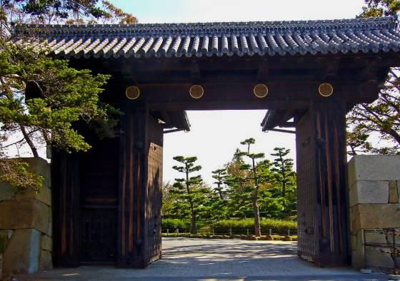 Вход в Замок Химэдзи - главные ворота.