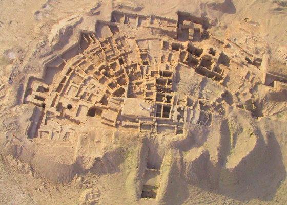Тель Хазна - древний город, находится в Сирии. ancient-east.ru