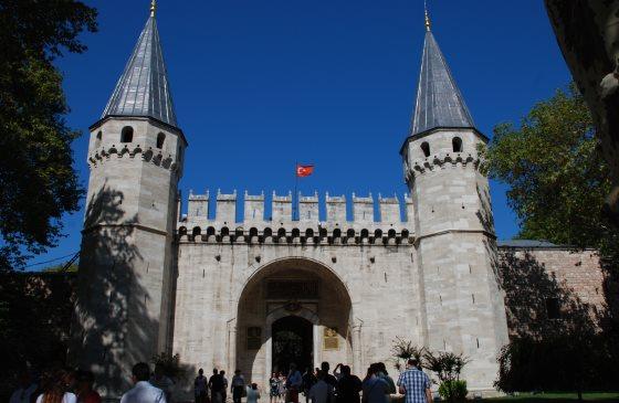 Дворец Топкапы в Стамбуле - Врата приветствия.