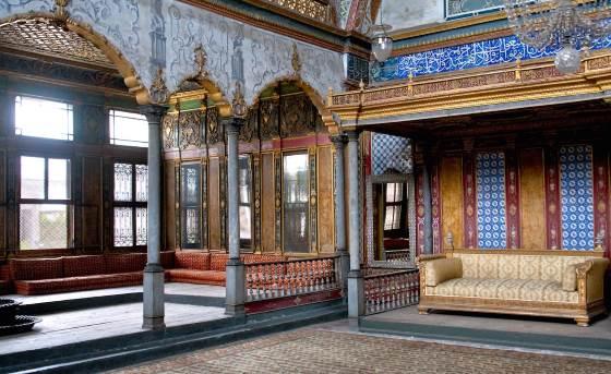 Хюнкар софасы (Комната повелителя) дворец Топкапы