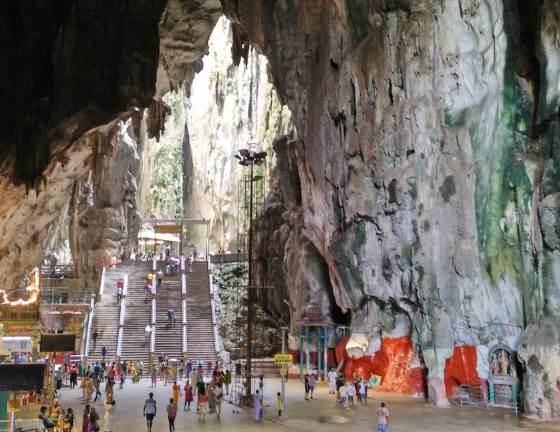 Пещера Храма общий вид.