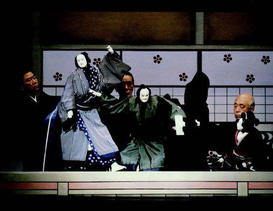 Театр Бунраку - японская культура.