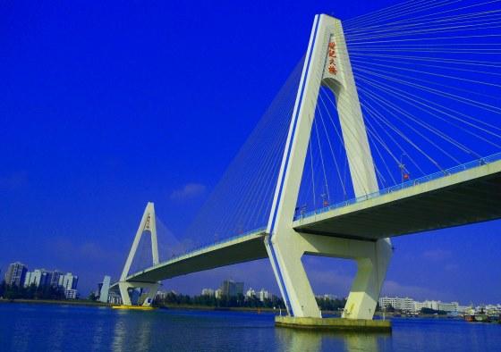 Мост века Хайкоу - остров Хайнань.